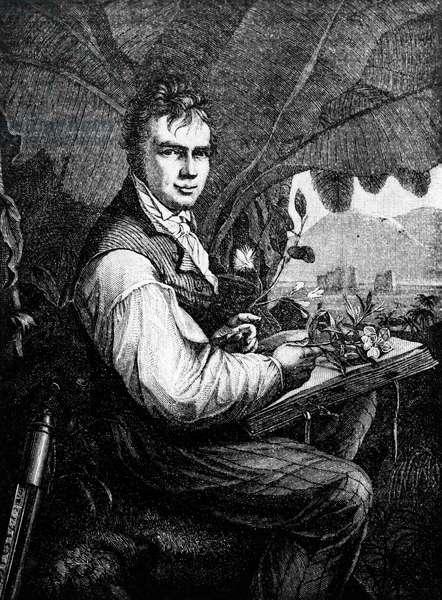 Alexander Von Humboldt (Alexander de Humboldt, 1769-1859). German naturalist.