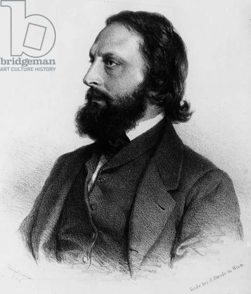Portrait of Eduard Suess (1831-1914), Austrian geologist