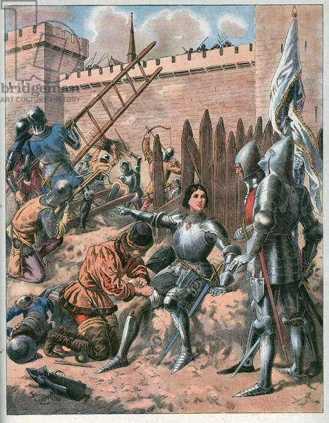 Joan of Arc at the Siege of Paris.