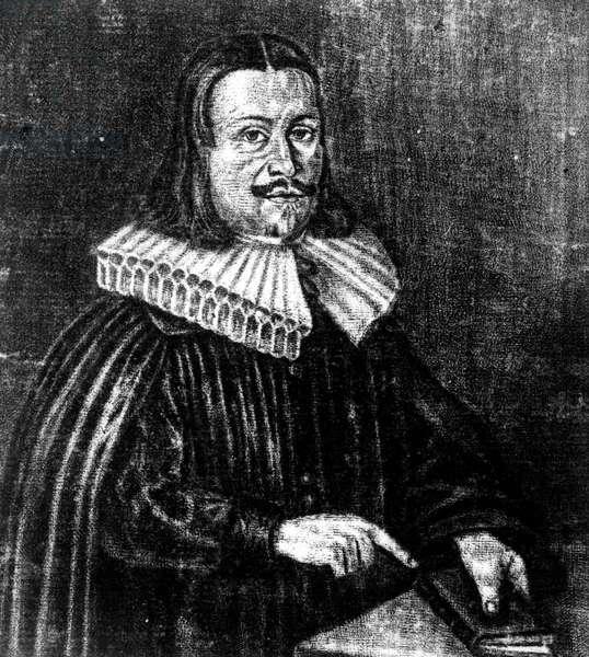 Portrait of Andreas Libavius (1560-1616) German naturalist and chemist