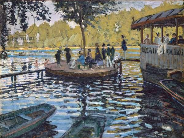 La Grenouillere, 1869 (oil on canvas)