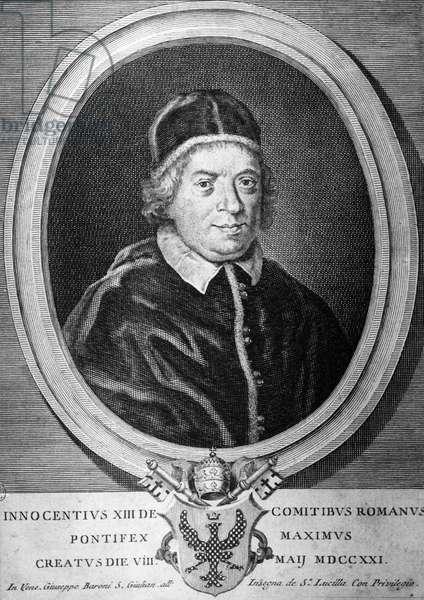 Portrait of Pope Innocent XIII (1721-1724)