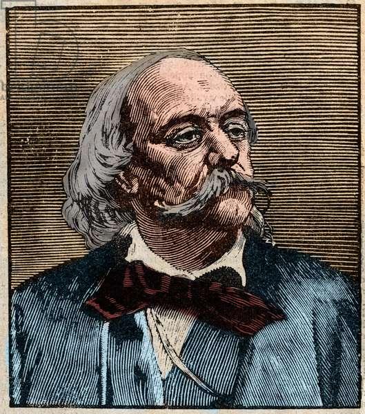 Portrait of Gustave Flaubert (1821 - 1880).
