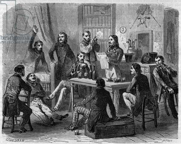 The Human Rights Society (SDH) in 1832.