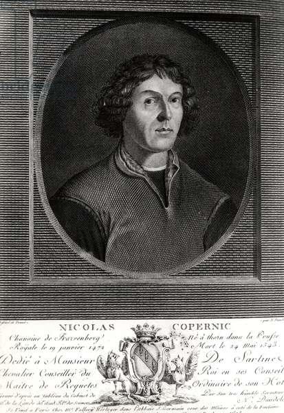 Portrait of Nicolas Copernicus (Nicolaus Copernicus, 1473-1543), Polish astronomer (1473-1543)