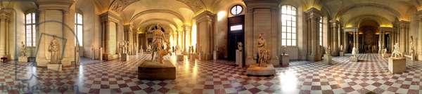 Louvre Museum. Hall of Greek Antiquities.