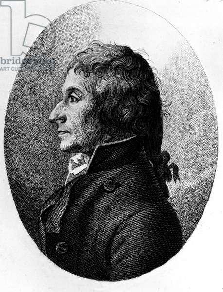 Portrait of Joseph Louis Proust (1754-1826) French chemist