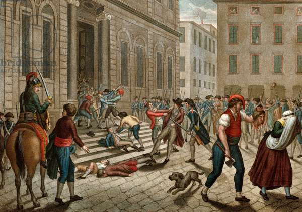 Massacre de Lyon ordered by Collot d'Herbois Commander of an army of without panties - French Revolution and anti-revolutionary movements: The shooting of Lyon commanded by Jean Marie Collot dit Collot d'Herbois (1749-1796) on 14 December 1793.