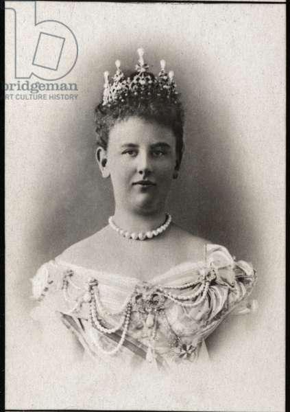 Portrait of Wilhelmina of the Netherlands (1880-1962), Queen of the Netherlands.