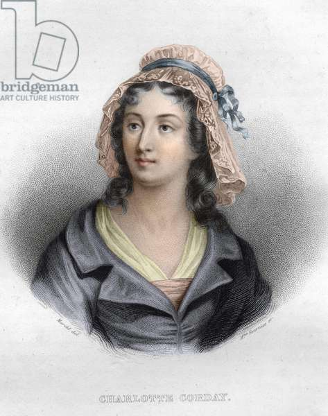 Portrait of Charlotte Corday (1768 - 1793)