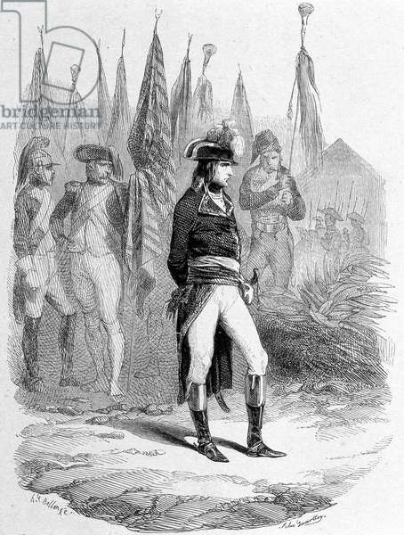 Campaign (Expedition) of Egypt (1798-1801): Napoleon I in Egypt.