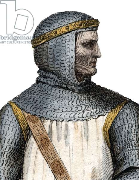 Portrait of Rollo (Robert I) (860-c.927-933), Viking leader and Duke of Normandy.