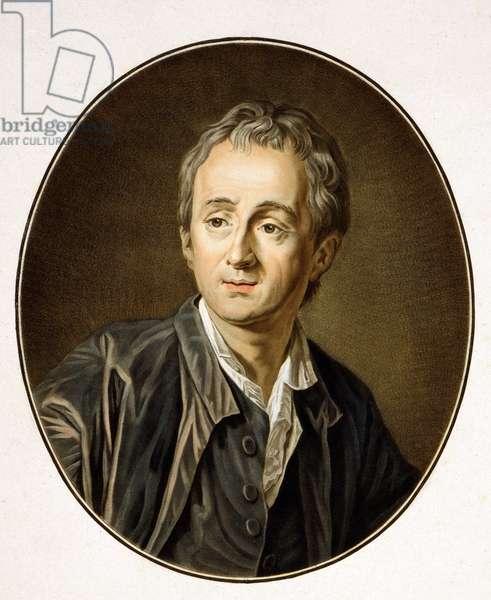 Denis Diderot (1713-1784), by Pierre-Michel Alix (1762 - 1817).
