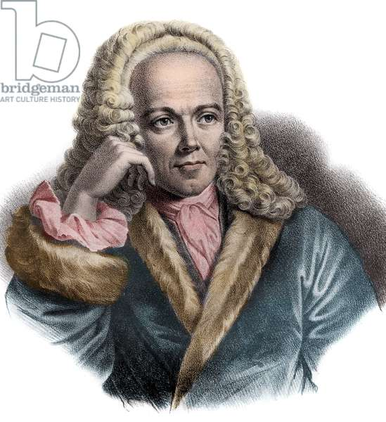 Portrait of Francois Quesnay (1694-1774) French physician and economist