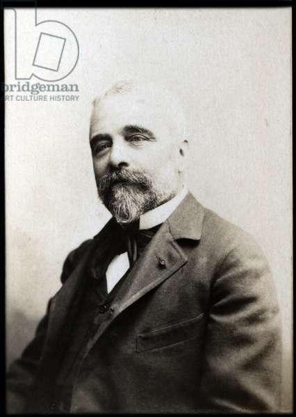 Portrait of Ernest Lavisse (1842-1922), French historian.