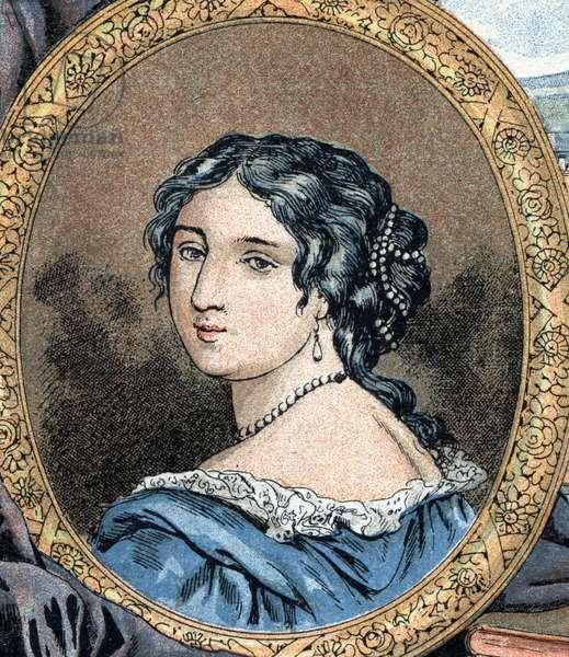 Portrait of Francoise d'Aubigne, Marquise (Madame) de Maintenon (1635-1719)