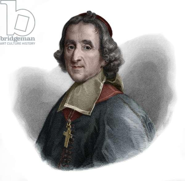 Portrait of Francois Fenelon (1651-1715) French Catholic archbishop, theologian, poet and writer.