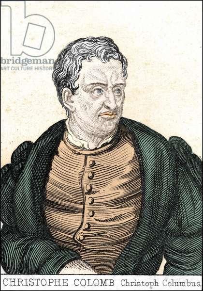 Portrait of the navigator Christopher Columbus (1451 - 1506).