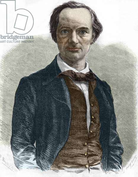 Charles Baudelaire (1821-1867), French writer.