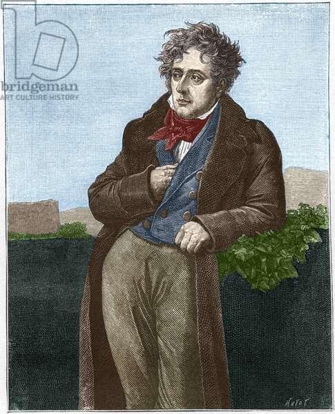 François René Chateaubriand (Viscount de) (1768 - 1848).