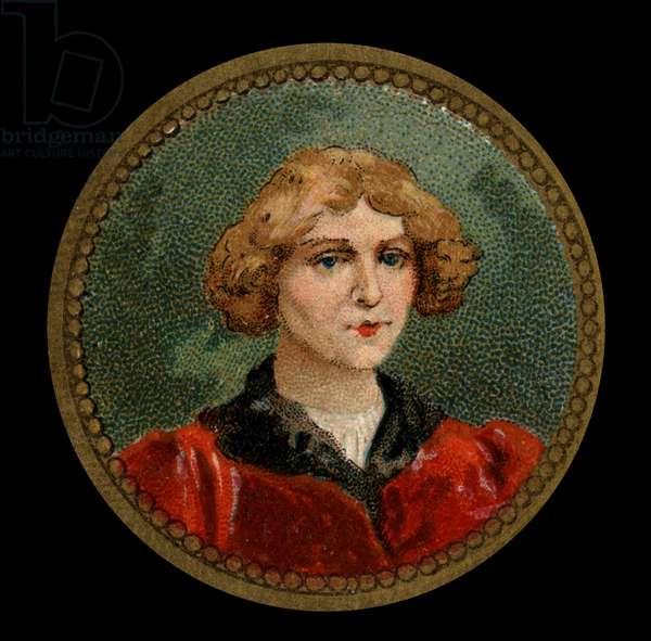 Portrait of Nicolas Copernicus ((Nicolaus Copernicus, 1473-1543) Polish astronomer.
