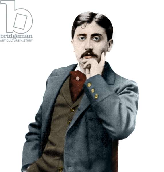 Portrait of Marcel Proust (1871-1922), French writer.