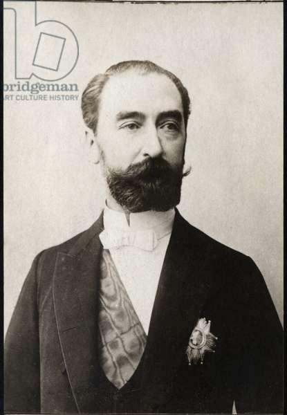 Portrait of Sadi Carnot (1837-1894), French politician.