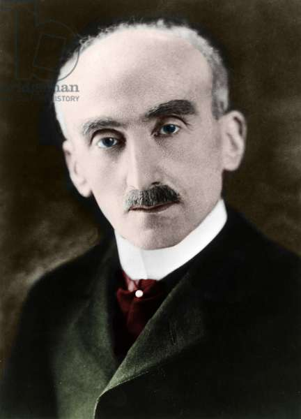 Henri Bergson (coloured photo)