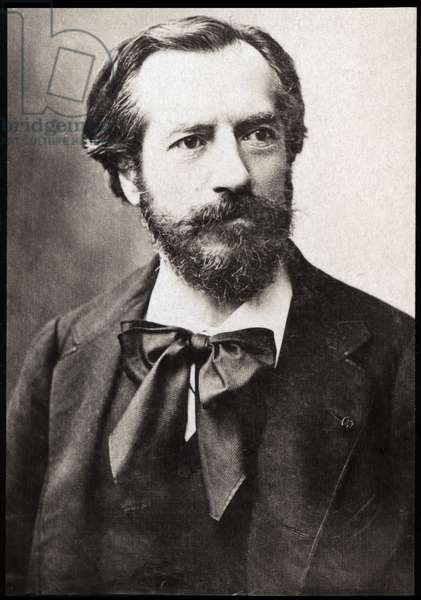 Portrait of Frederic Auguste Bartholdi (1834-1904), French sculptor.