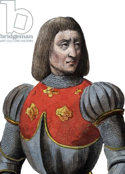 Portrait of Arthur III Duke of Brittany (1393-1458), French Constable.