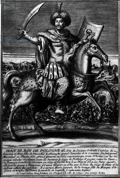 Portrait of John III Sobieski (1624-1696), King of Poland from 1674 to 1696
