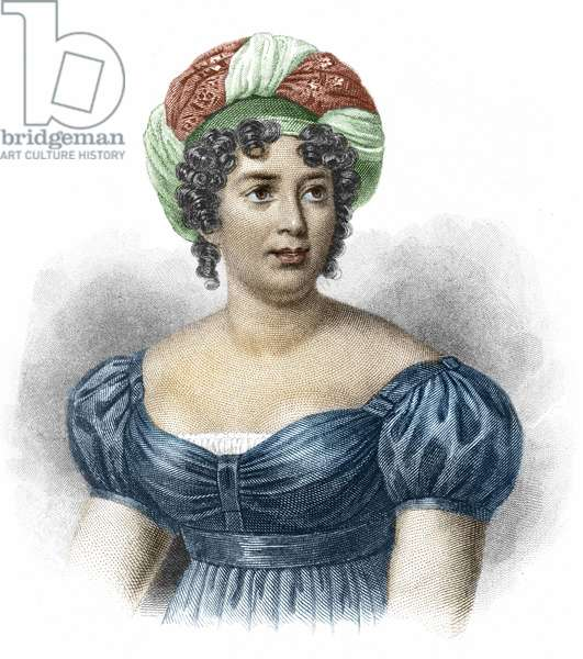 Portrait of Madame de Staël (1766-1817), Woman of Letters
