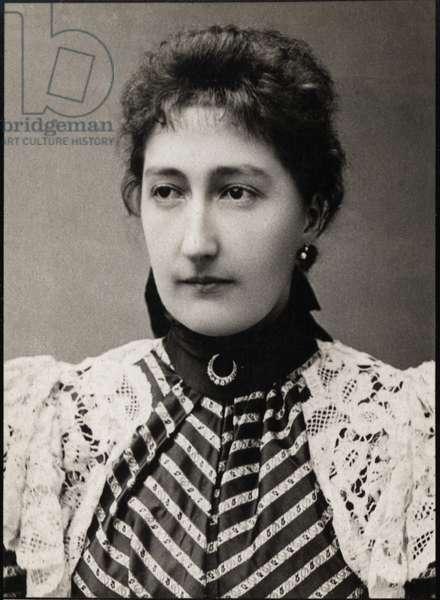 Portrait of Princess Clementine of Belgium (1872-1955)