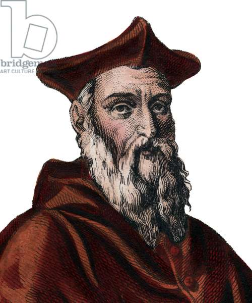 Portrait of Jean du Bellay (1492-1560), French cardinal and diplomat.