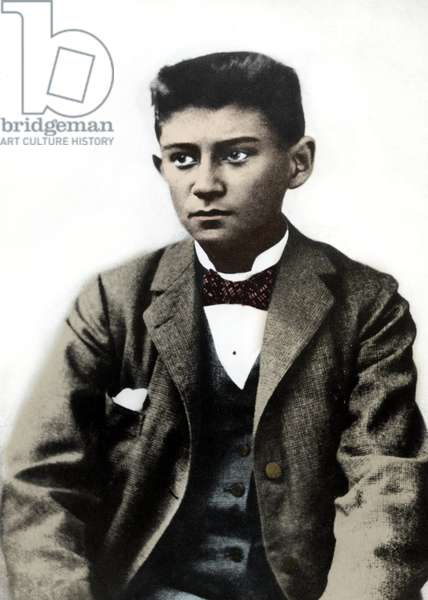 Portrait of the young Franz Kafka circa 1899