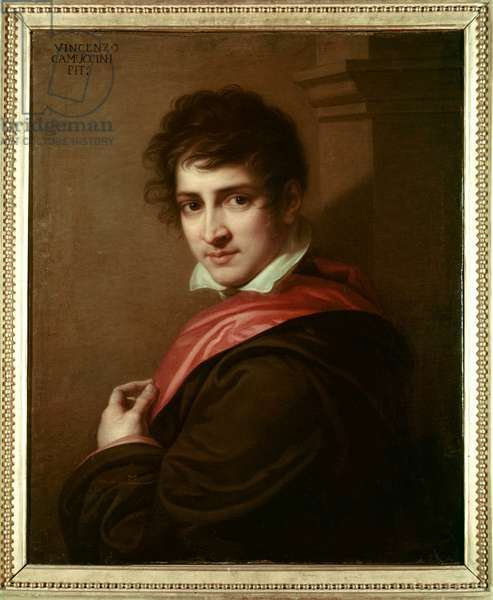 Portrait of Lord George Byron (oil on canvas)