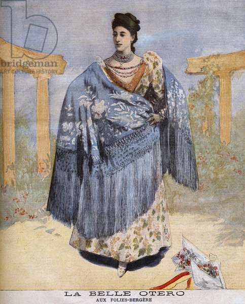 The beautiful Otero at the Folies-Bergères in 1894