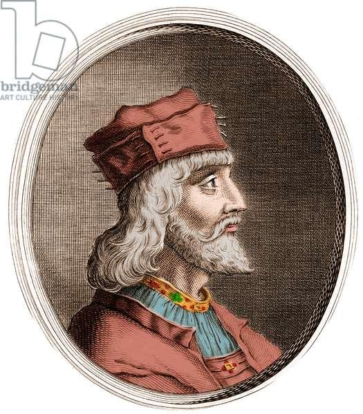Cesare Borgia (1475-1507) Duke of Valentinois - Portrait of Cesare Borgia (Cesar Borgia, 1475-1507), Italian prince and adventurer