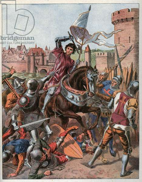 Joan of Arc is taken prisoner on May 23rd 1430 and is handed over to the English at Compiegne.