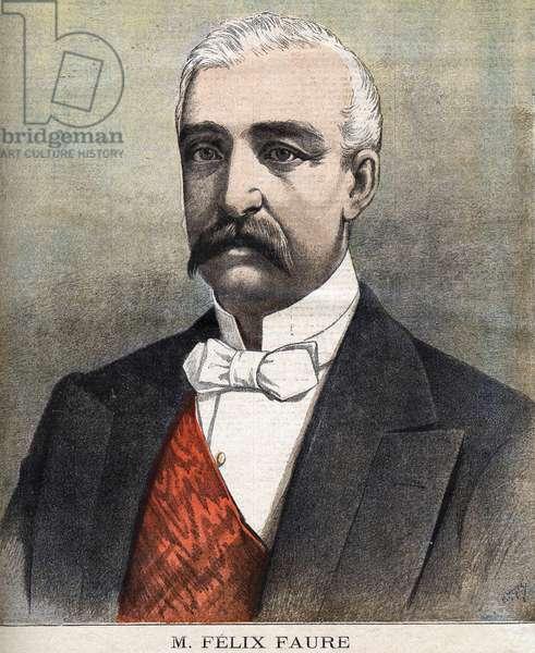 Le Président Félix Faure - in Le Pepetit journal du 27/01/1895