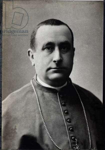 Portrait of Camillo Siciliano di Rende (1847-1897), Italian cardinal.