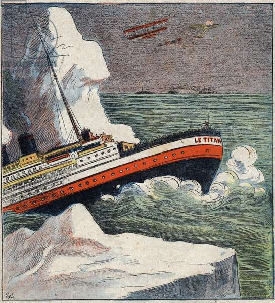 The Titanic disaster in 1912.