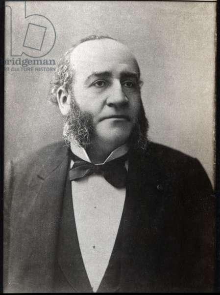 Portrait Jules Emile Pean (1830-1898), French surgeon.