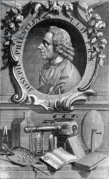Portrait of Joseph Priestley (1733 - 1804) British chemist and theologian