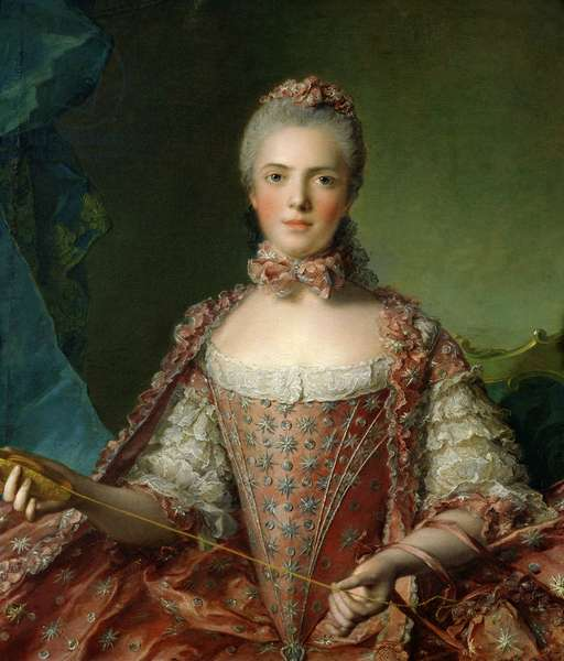 Portrait of Marie Adelaide (1759-1802) 1756 (oil on canvas)