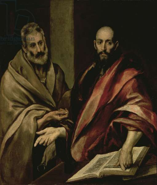 St. Peter and St. Paul, between 1587 and 1592 (oil on canvas)