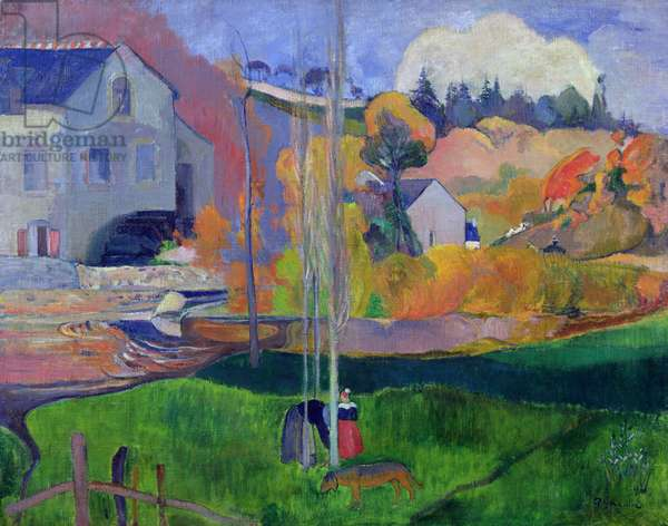 Brittany Landscape: the David Mill, 1894 (oil on canvas)