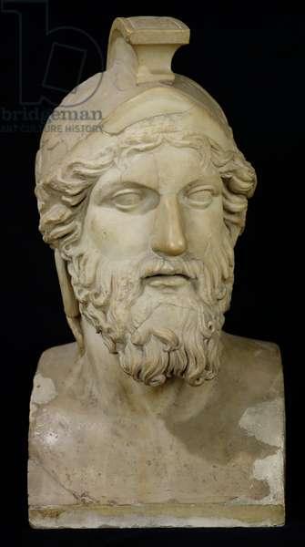 Bust of Miltiades (d.489 BC) 480-336 BC (marble)
