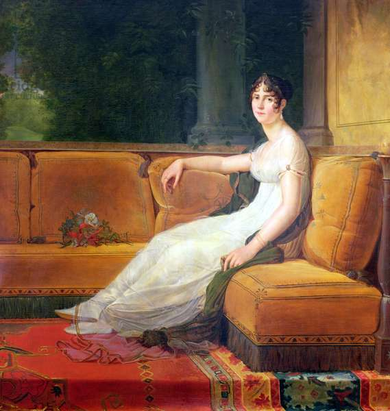 Empress Josephine (1763-1814) at Malmaison, c.1801 (oil on canvas)