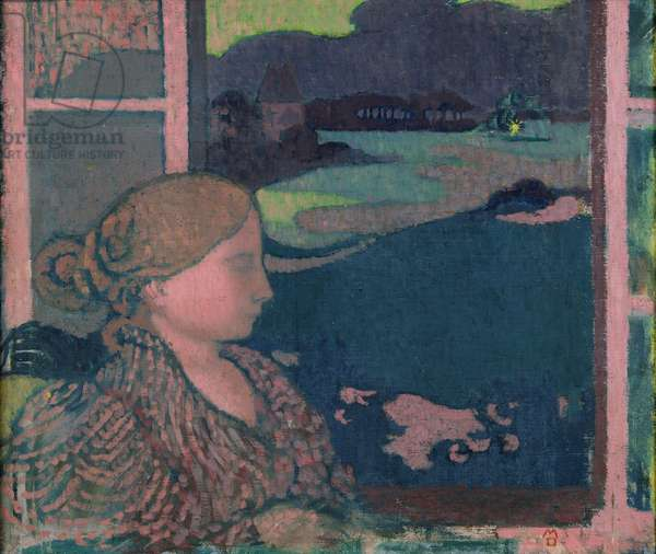 Evening, c.1894 (oil on canvas)